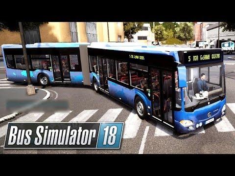 Autobus Przegubowy | Bus Simulator 18 (#11)