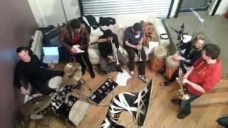 Renegade Brass Band jamming @ Joe Buhdha