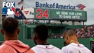 Frank Thomas and Mark Sweeney react to outpouring of support for David Ortiz | MLB WHIPAROUND