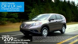 Honda Lease Specials