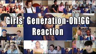 "Girls' Generation-Oh!GG (소녀시대) ""Reaction Mashup"""