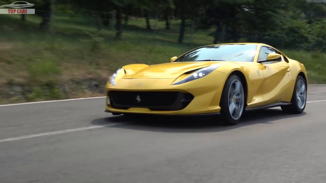 Top Cars 2018 Ferrari 812 Superfast Red Or Yellow Silver