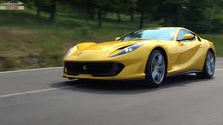 [Top Cars]: 2018 Ferrari 812 Superfast - RED or YELLOW or SILVER