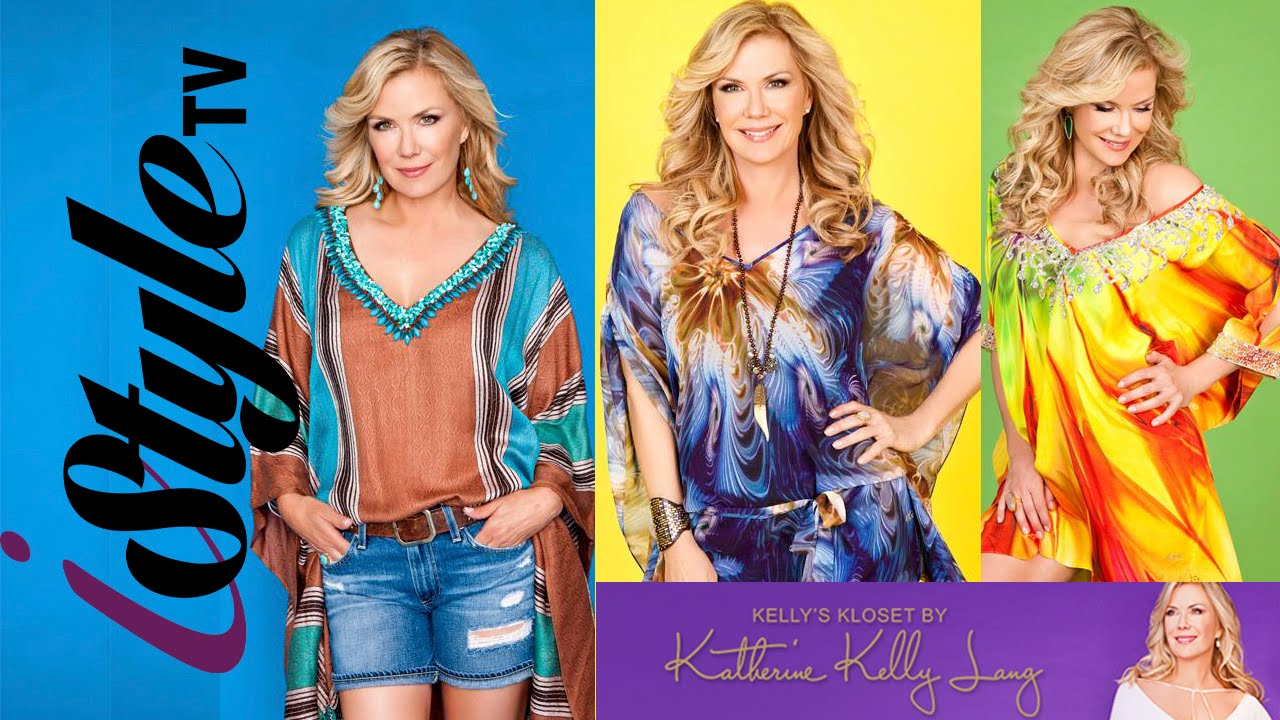 2ea0f7e9b472f Bold and the Beautiful s - Katherine Kelly Lang - Exclusive Designer Fashion  - YouTube