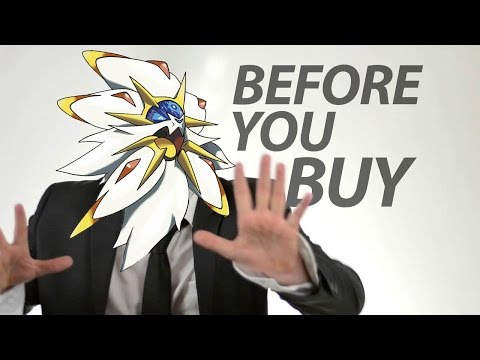 Pokemon Sun & Moon - Before You Buy