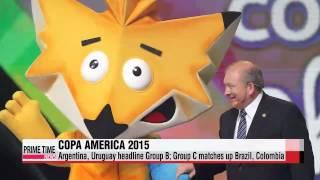 Groups drawn for Copa America 2015 tournament   해외 축구: 코파 아메리카, 조 편성 확정