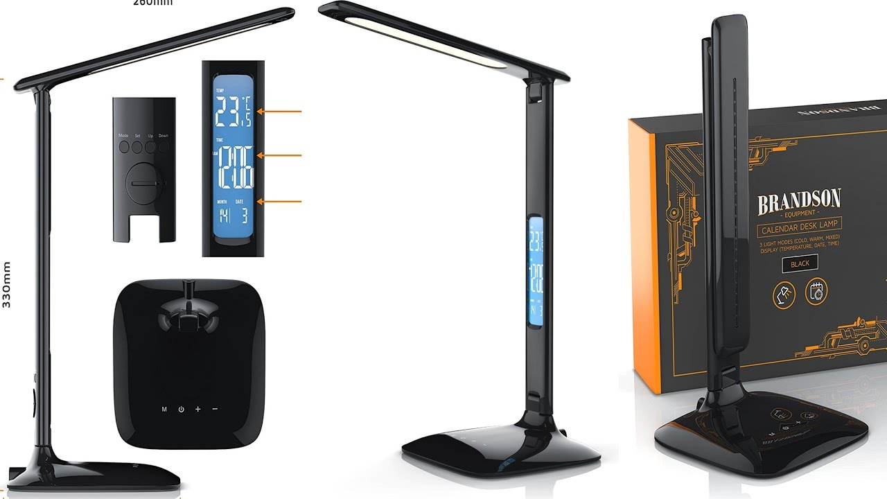 The Smart Led Desk Lamp With Touch Controls Built In