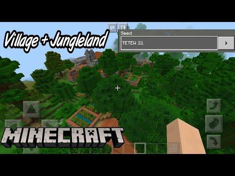 Minecraft Seed Unik Desa Villager Di Tengah Hutan