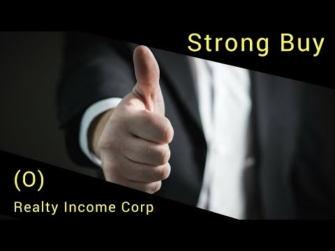 Realty Income Corp. (O) is a Strong Buy
