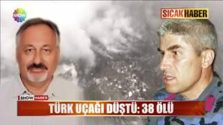 Türk uçağı düştü: 38 ölü!