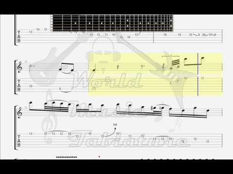 Dream Theater   Lines in the Sand GUITAR TAB mp3
