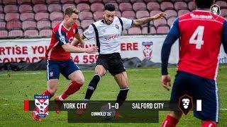 York City 1-0 Salford City - National League North 10/02