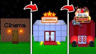 DE CINEMA NOOB A CINEMA PRO NO MINECRAFT !