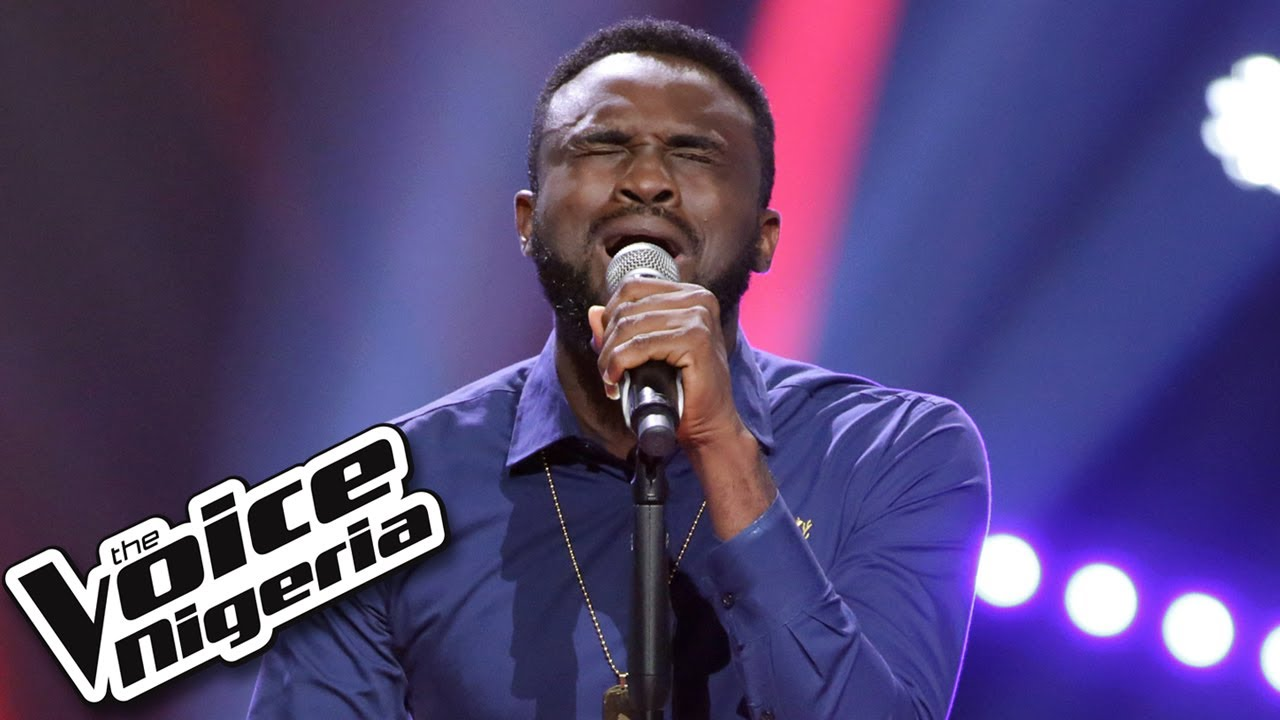 """Download Blessed Eke sings """"Folashade"""" / Blind Auditions / The Voice Nigeria Season 2"""