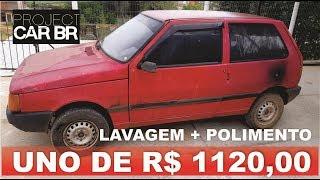 Trato no UNO de R$ 1120,00 do leilão!!! LAVAGEM + POLIMENTO