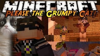 Minecraft Mini-Game : PLEASE THE GRUMPY CAT!