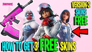 Fortnite: Get 3 FREE V2 Skins Trog, Powder & Onesie Skins! (Fortnite Share The Love Event)