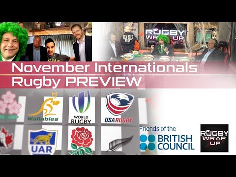 Pengelly, Wall, Broker: November Tests, RWC 2023 Hosts, USA Rugby Coaches