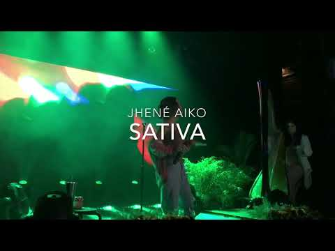 Jhené Aiko - Sativa Live TRIP Tour NYC HD