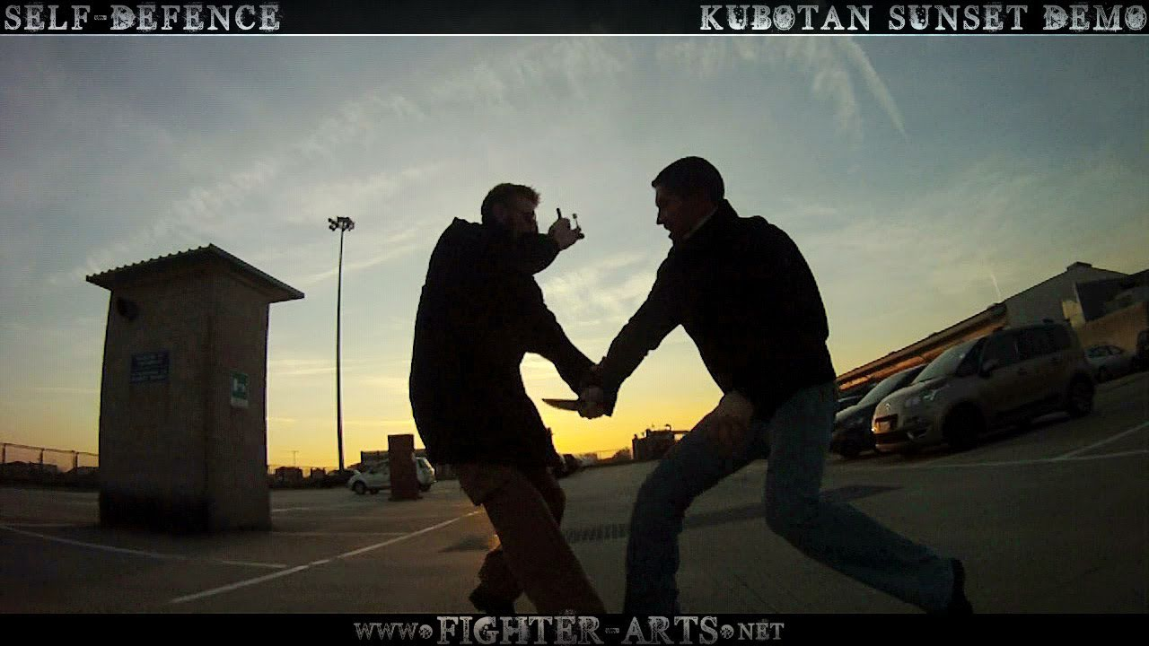 Kubotan Self Defense keychain