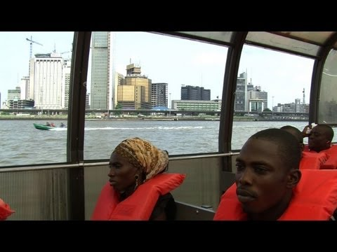 Lagos residents turn to waterways to avoid traffic