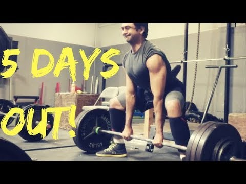 5 Days Out - Boss of NorCal 5 USAPL Powerlifting Meet