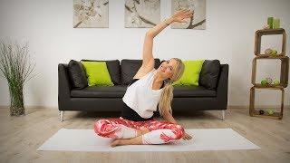 Pilates gegen Schulter und Nacken Schmerzen mit Linda