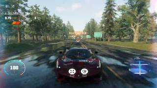 The Crew Calling All Units - Transporter Bug: no pursuit cops + flying skyline(1:37) :D