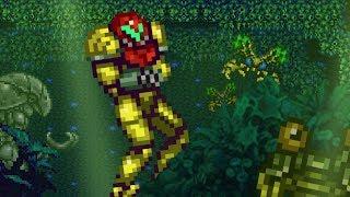 (Metroid Sprite Animasyon)Brinstar Tesisat Sorunu