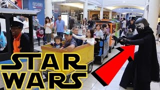 KYLO REN GETS KICKED OUT OF DISNEY STORE! (STAR WARS PRANK)