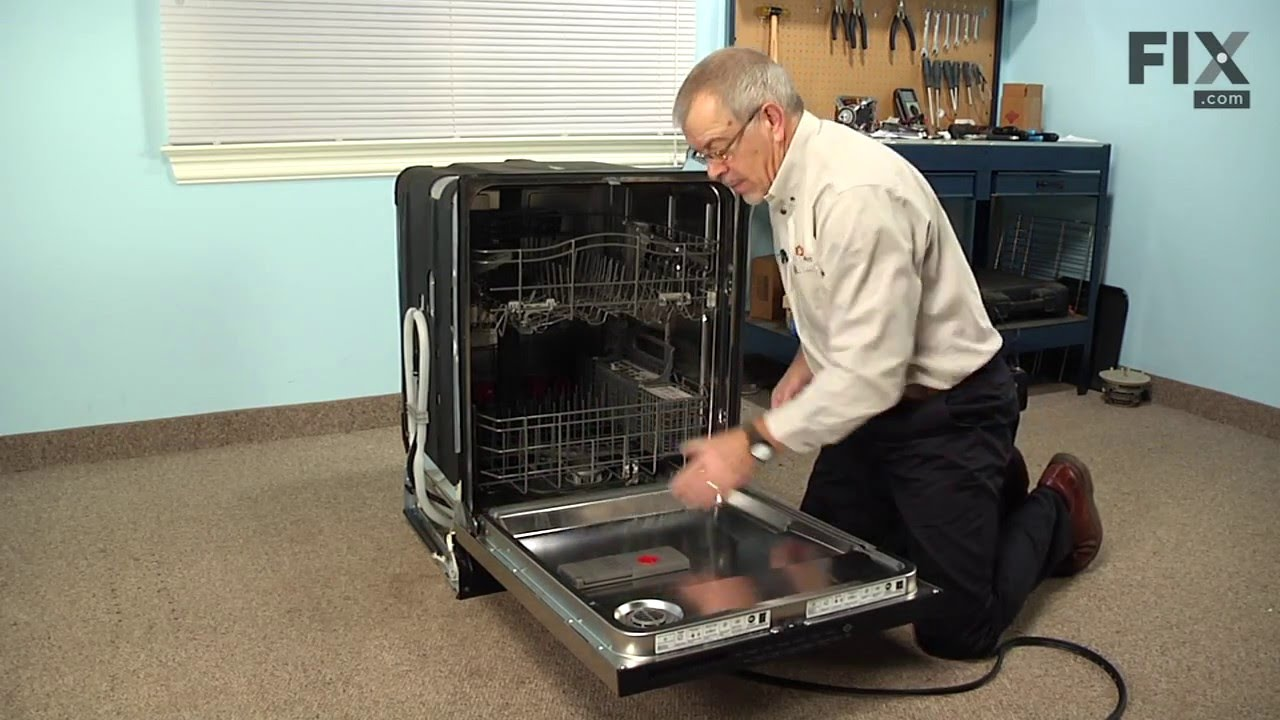 KitchenAid Dishwasher Repair  How to replace the Door