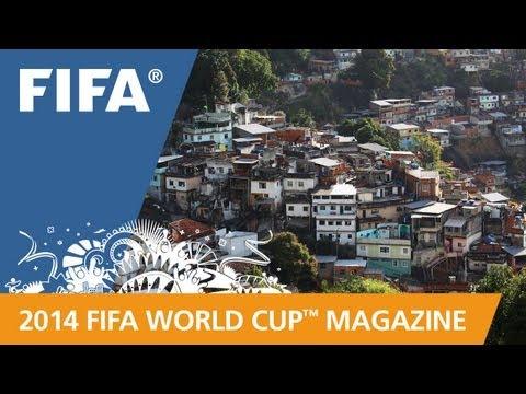 Going inside Brazil's favelas
