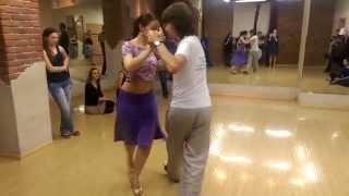 Уроки Аргентинского ТАНГО в Танцевальном Клубе