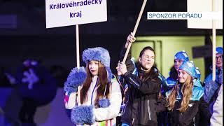 Zimní olympiáda dětí a mládeže 2018 - výprava Královéhradeckého kraje