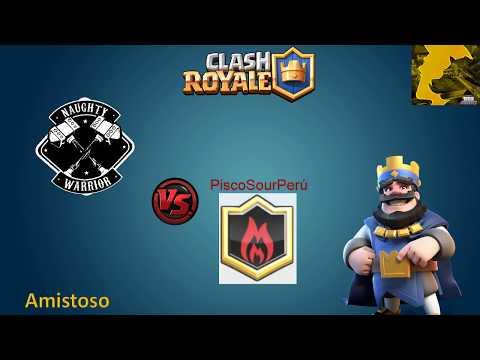 Amistoso: Naughty Warrior vs PiscoSourPerú