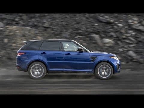 Range Rover Sport SVR Acceleration Test On All Terrain