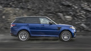 Range Rover Sport SVR Acceleration Test On All Terrain