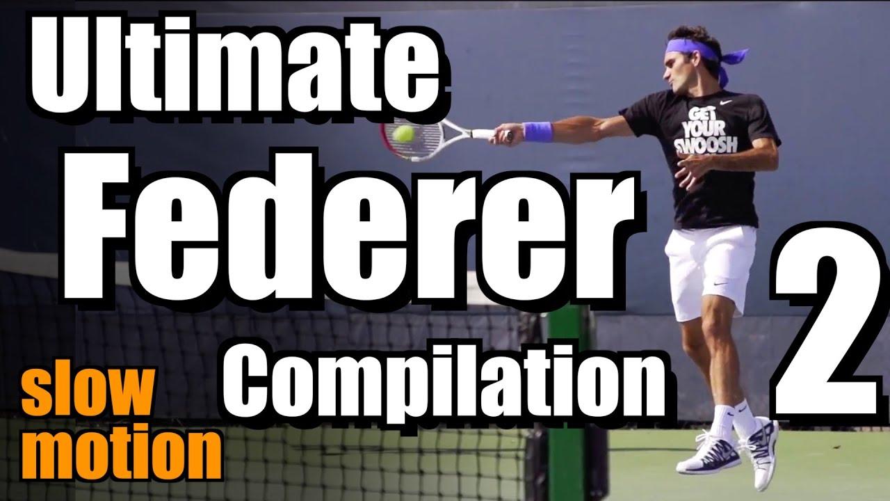Roger Federer Ultimate Slow Motion Compilation #2 - Forehand-Backhand-Serve - 2013 Cincinnati Open
