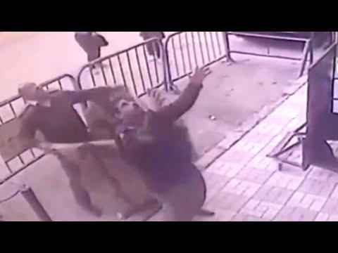 Watch Hero Cop Catch Boy Who Fell From Balcony
