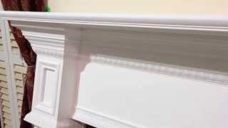 Custom Fireplace Mantel - Alternate Marianna Mantel