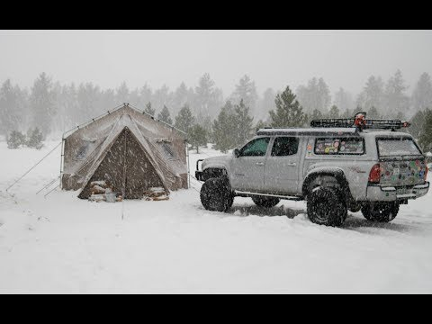 Truck Camping: Tips To Winterize Your Topper