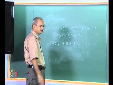 Mod-03 Lec-14 Metric Spaces: Definition and Examples