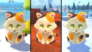 Super Mario 3D World + Bowser's Fury - All Daisy Cat Locations