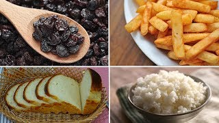 DANGEROUS FOODS DIABETIC PATIENTS SHOULD AVOID
