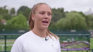 Road to Wimbledon Finals: Regional Girls