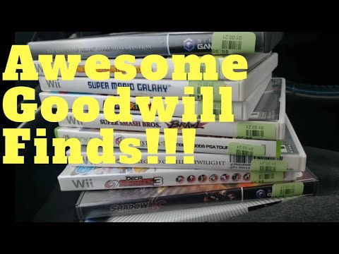 Live Video Game Hunting: Awesome Goodwill Finds!!!