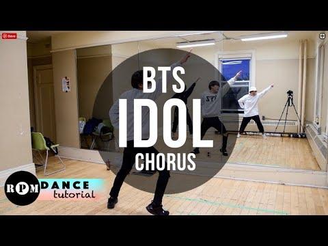 """BTS """"Idol"""" Dance Tutorial (Pre-Chorus, Chorus)"""