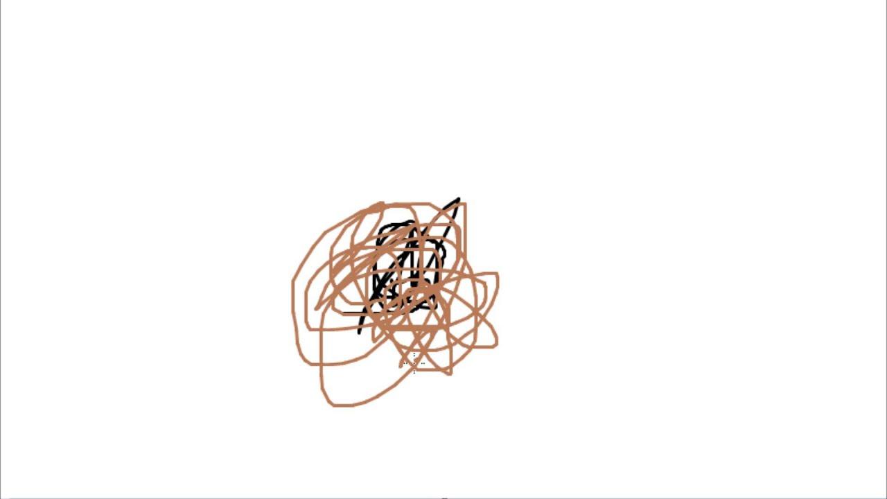 How to draw a life like Tumbleweed avi - YouTube