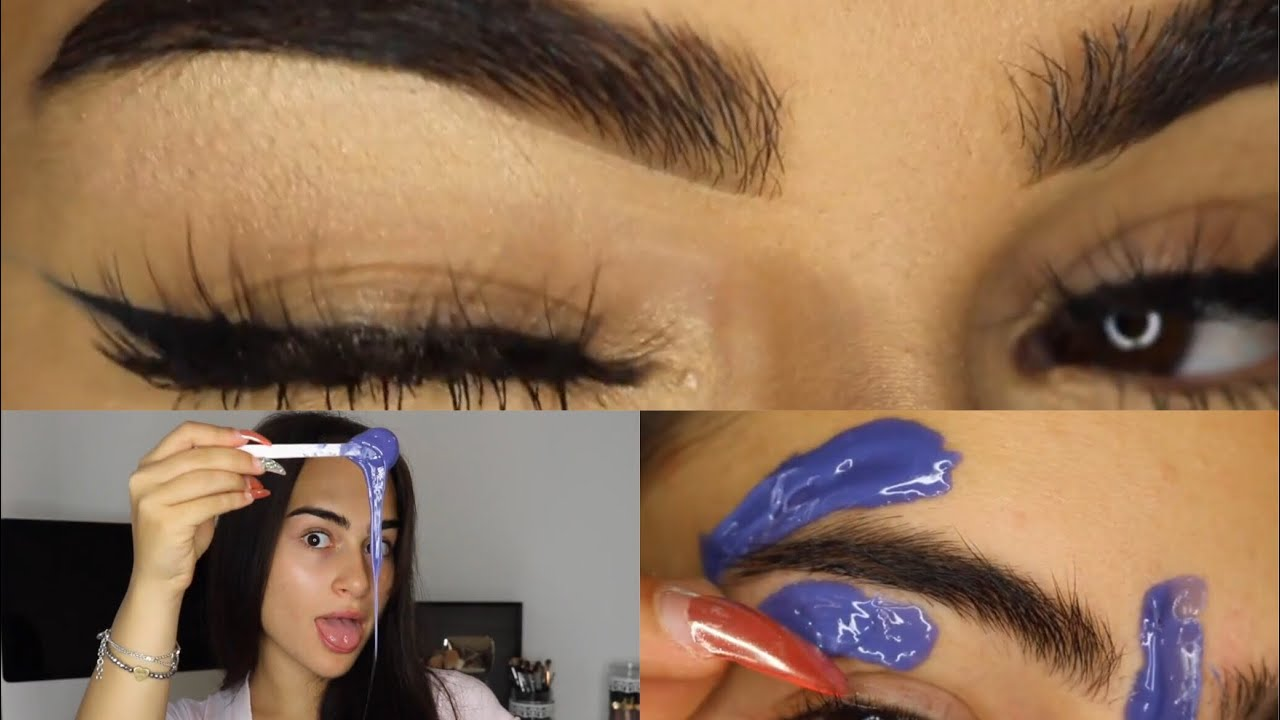 How to pluck bushy eyebrows
