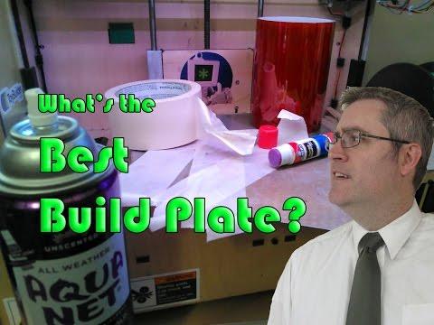 3D Printing Build Plate Showdown